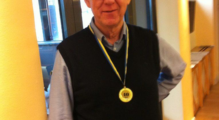 ICSW Sveriges kassör slutar efter 40 år