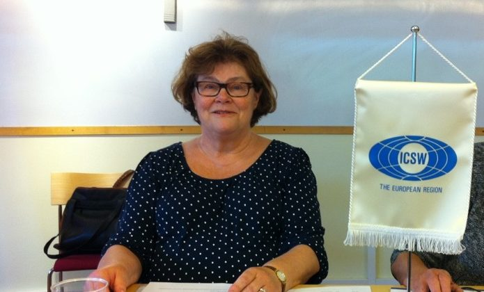 Sveriges ICSW-ordförande Eva Holmberg Herrström nyvald som Global ICSW-president