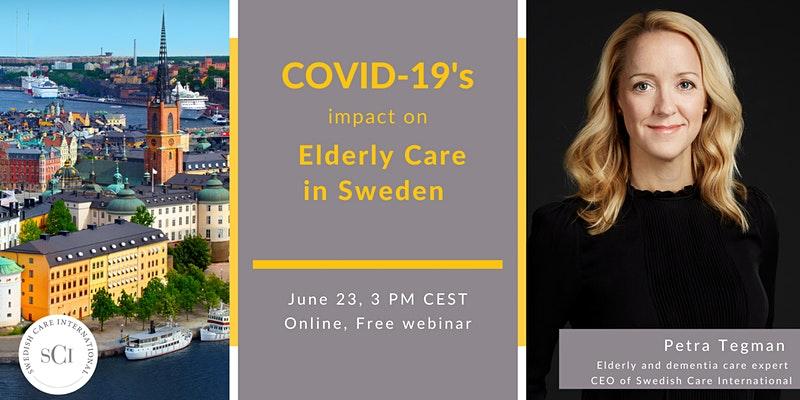 Webinar: Covid-19:s inverkan på äldreomsorgen i Sverige